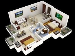 3d house interior design. 3d small home floor plans #smallhome #houseplan 3d house interior design i