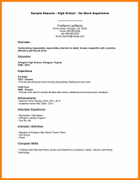 Janitor Resume Sample Simple Resume Sample Without Experience svoboda60 52