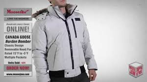 2015 Canada Goose-Mens Borden Bomber Moosejaw Review - YouTube