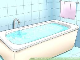 water backing up into bathtub