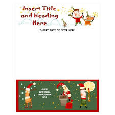 Holiday Templates For Word Free Template Word Christmas Template 927111994751 Free Christmas
