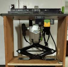 lowes router table. click image for larger version name: router lift.jpg views: 2060 size: lowes table e