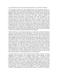 different types of self reflection essay speech presentation  essay references monash university