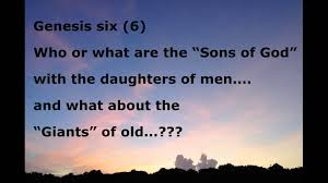 Image result for the sons of God in the Bible