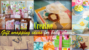 Creative Gift Wrapping ideas for Baby Shower - YouTube