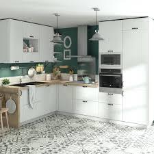 Meuble De Cuisine Toscane Blanc Delinia Id Leroy Merlin Plan Travail Roi