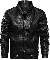 images gallery generic qiqichen men s locomotive leather plus size jacket black
