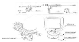 headrest monitor wiring diagram headrest image boyo vtm3000 universal 3 inch lcd monitor on headrest monitor wiring diagram