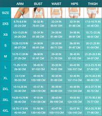Bust Size Chart Women 38 Cogent Bust Sizing Chart