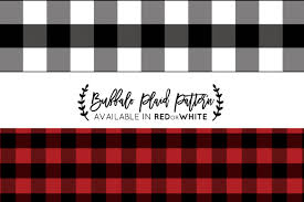 Plaid Pattern Enchanting Buffalo Plaid Pattern Photoshop Graphic Patterns Creative Market