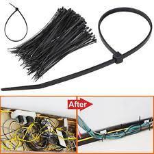 edge clip zip cable tie wire harness black 156 01234 8 1000pcs 8 inch black network 50 lbs zip nylon cable cord wire tie strap us