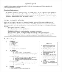 informative speech examples social networking informative speech speech outline template 32 pdf word documents