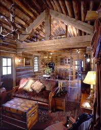 Log Cabin Living Room Classy Blackcupcakekitty Love These Log Cabin Interiors Cabin