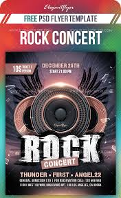 Concert Flyer Templates Free 45 Premium And Free Concert Flyer Psd Templates For Music