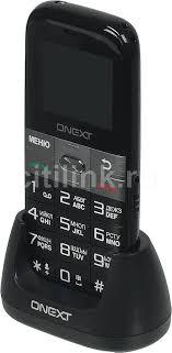 Купить Мобильный <b>телефон ONEXT Care</b>-<b>Phone</b> 7 черный в ...