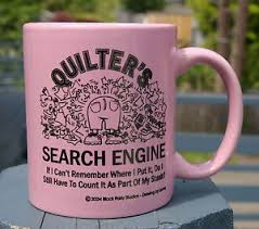 Quilter's Search Engine Quilt Coffee Mug Pink Block Party Stash ... & Image is loading Quilter-039-s-Search-Engine-Quilt-Coffee-Mug- Adamdwight.com