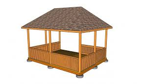 how to build a gazebo roof how75