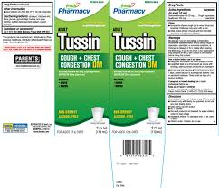 Adult Tussin Cough And Chest Congestion Dm Liquid Freds Inc