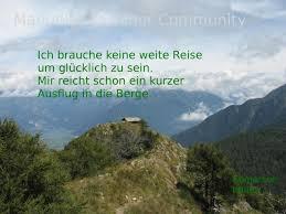 Bild Natur Spruch Natur Berge
