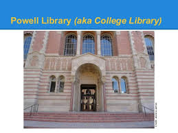 Image result for ucla  powell library
