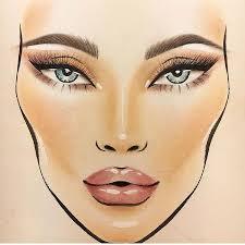 Mac Face Charts Macfacechart Instagram