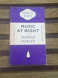 aldous huxley collection on  vintage purple essay 748 penguin music at night aldous huxley paperback book