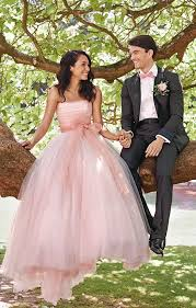 picture of strapless pink wedding ballgown with a bow
