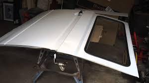 vw t25 chassis repair sliding door rust surprises part 27