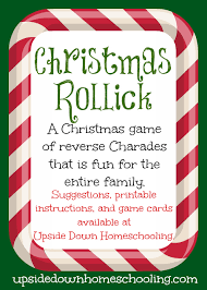 Christmas Rollick: a fun game for the entire family {printable ...