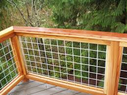 Image Porch Hogwire And Wood Rail Nelson Treehouse Hogwire And Wood Rail Decked Out Pinterest Deck Railings