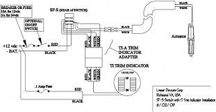 wiring diagram flat rocker switch (saf s, saf ns, sf s series Bennett Trim Tabs Wiring Diagrams sf s ti8 wire diagram trim tab wiring diagrams bennett trim tab wiring diagrams