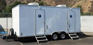 VIP Deluxe Restroom Trailer Portable Toilet Rental Major Event Interesting Trailer Bathroom Rental
