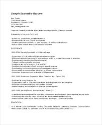 Resume Format Example 8 Samples In Word Pdf.