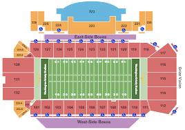 Washington Grizzly Stadium Seating Chart Missoula