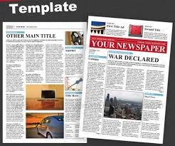 Newspaper Front Page Template Indesign 44 Amazing Newspaper Templates Available In Psd Indesign Formats