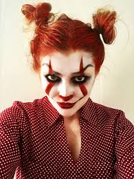 it pennywise clown makeup for