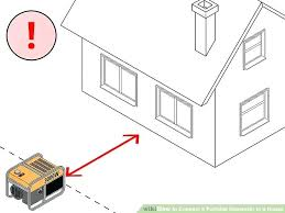 wiring diagram portable generator house great installation of portable generator connection to house image titled connect a rh comoreconquistaroex info generator schematic diagram portable generators repair wiring