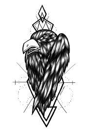 Artstation Crow Tattoo Dar Zellmer