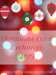 Christmas Card Mailing List Christmas Card Exchange Around The World Sewlicious Home Decor