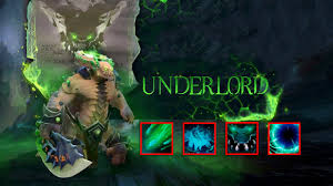 underlord pit lord in dota 2 youtube
