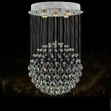 creative of crystal lighting fixtures modern luxury spiral crystal chandelier pendant hanging lamp