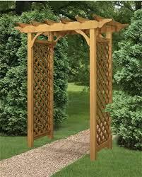 arbor garden. Creative Wooden Arbors And Gates Arbor Garden