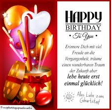 Geburtstagskarte Mit Schönem Spruch Geburtstagssprüche Welt