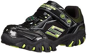 sketchers light up shoes girls. skechers kids damager ii-adventurer light-up sneaker (toddler), black/ sketchers light up shoes girls