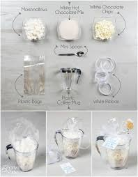 DIY Wedding Favors: White Hot Chocolate Kits