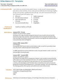Cv Order Career Break Cv Example Template Learnist Org