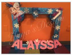 birthday party picture frames diy selfie frame styrofoam stand lovely 160 best marcos para