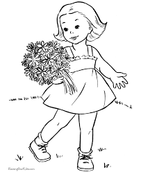 Small Picture Valentine Coloring Pages for Kids