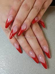 40+ Most Stylish Red Stiletto Nail Art Ideas