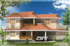 4 bhk kerala style villa